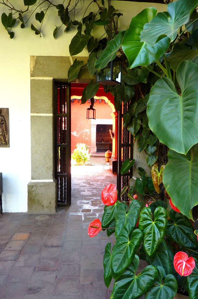Portal at Casa Popenoe, Antigua, Guatemala
