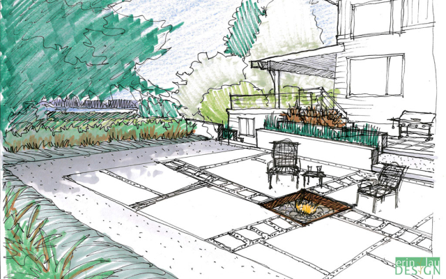 Drawntogarden From Concept To Reality A Garden Designer