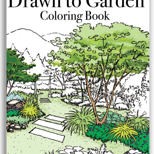 drawn to garden coloring book