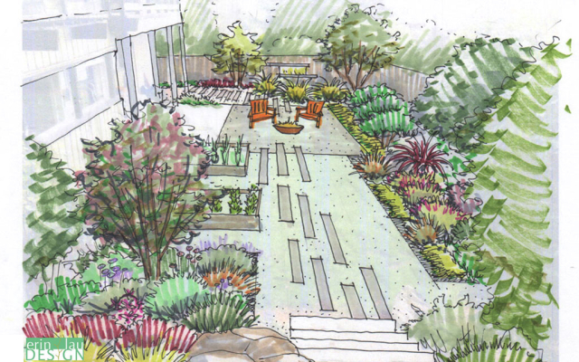 Drawntogarden From Concept To Reality A Garden Designer